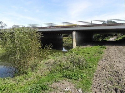 M5 Motorway Bridge - Downstream Face