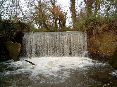 Cascade prior to Brue Join