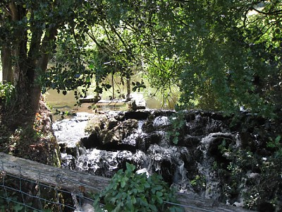 1. Pond Cottage Weir