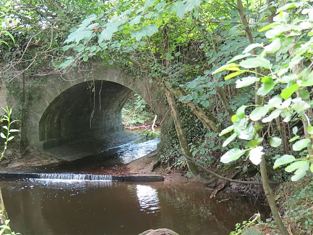 Pot Bridge upstream arch