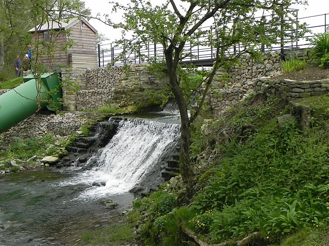 Alhampton Mill Weir
