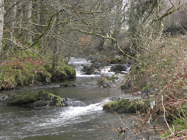Downstream from Oareford Farm