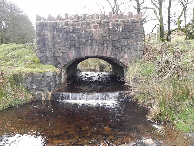 Chetsford Bridge downstream arch