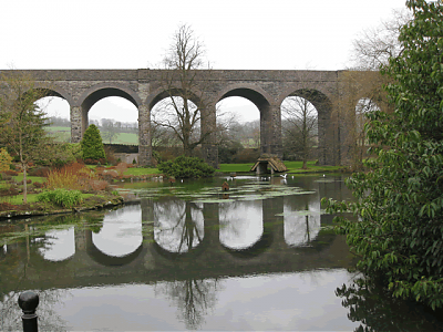 Jardine's Pond and Charlton Viaduct