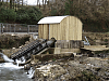 Beasley Weir Turbine House and Archimedes Screw