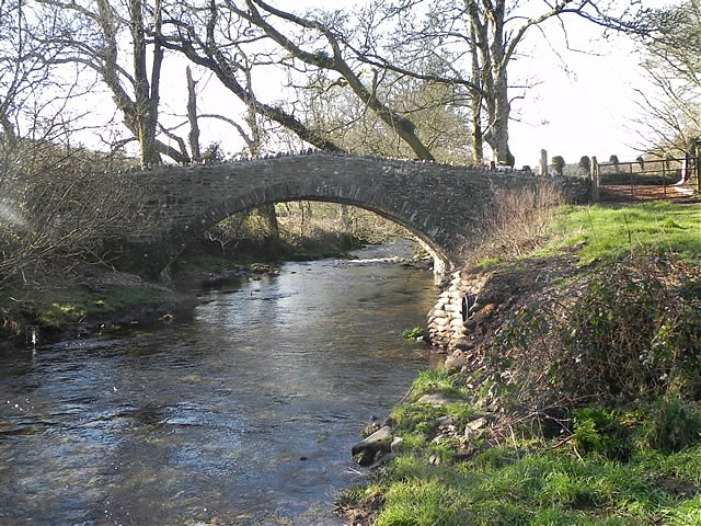 Oare Bridge downstream arch