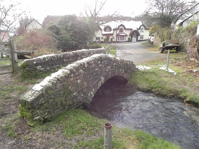 Winsford Packhorse Bridge