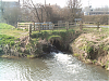 Barton Mill - Mill Stream rejoins the Brue