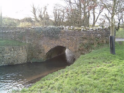Spargrove Bridge Upstream Face