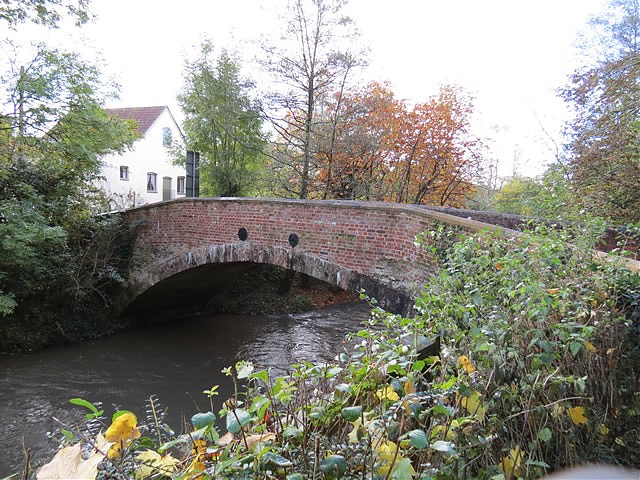 Tytherleigh Bridge upstream arch