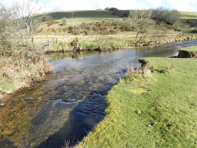 Confluence with River Barle