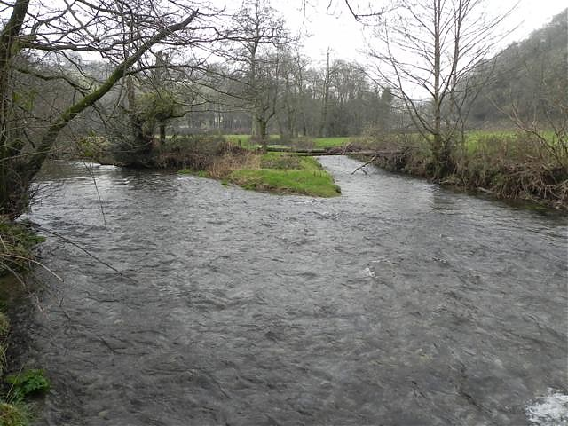 Confluence with River Exe