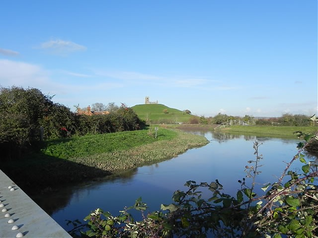 Burrow Mump from Stanmoor Bridge