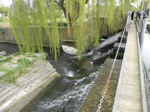Carey Mill Weir