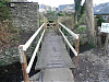 Footbridge to Monmouth Terrace