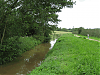 Downstream of West Lydford bridge looking West