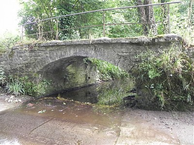 Cockmill Ford Footbridge Downstream Arch