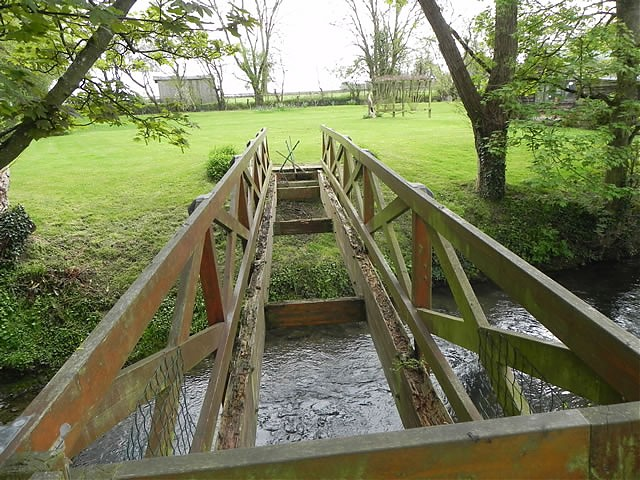 Alford Mill Footbridge
