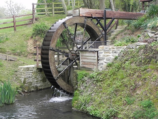 Hewlett's Mill Water Wheel