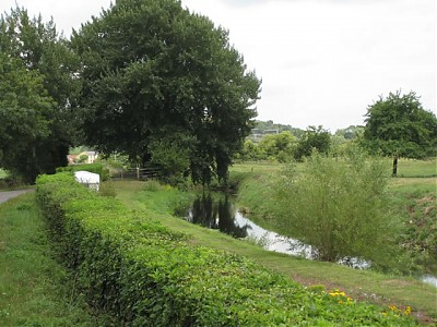 River View Looking Upstream to Hurn Farm (2)