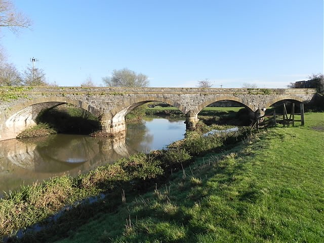 Five Arch Bridge Upstream Arches
