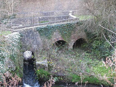 Upper Darshill Mill Spillway Downstream Arches