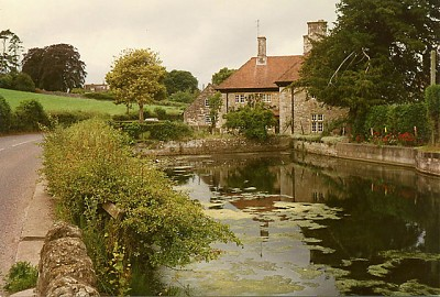 Millpond at Lower Barrow Mill