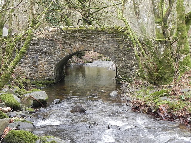 Pool Bridge upstream arch