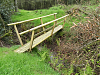 Footbridge below Withiel Hill headwaters