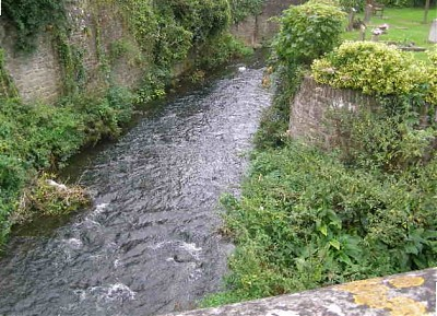 Upstream from Pensford Bridge
